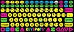KeySpots keyboard labls