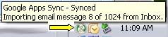 syncprogress