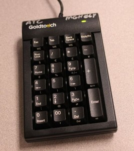 Goldtouch 10-Key keyboard