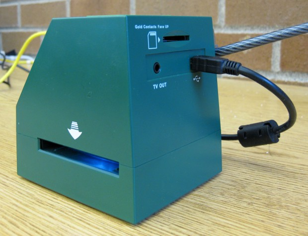 Image of Back of Slide Scanner