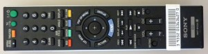 Picture of Sony Blu-Ray Player Remote