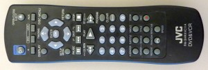 Picture of JVC VHS and DVD Player Remote
