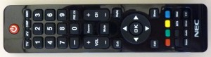 Picture of Team Booth NEC TV Remote