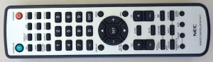 Picture of Team Room NEC TV Remote