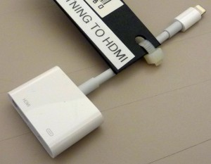 Picture of Apple Lightning to HDMI Adapter
