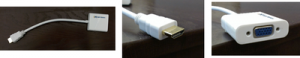 Picture of HDMI to VGA Adapter