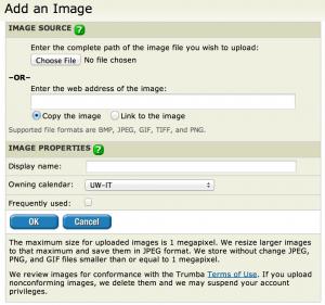 Add Image dialog box