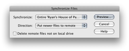 Image of Synchronized Files Box