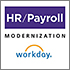 Logo for HR/Payroll Modernization and Workday
