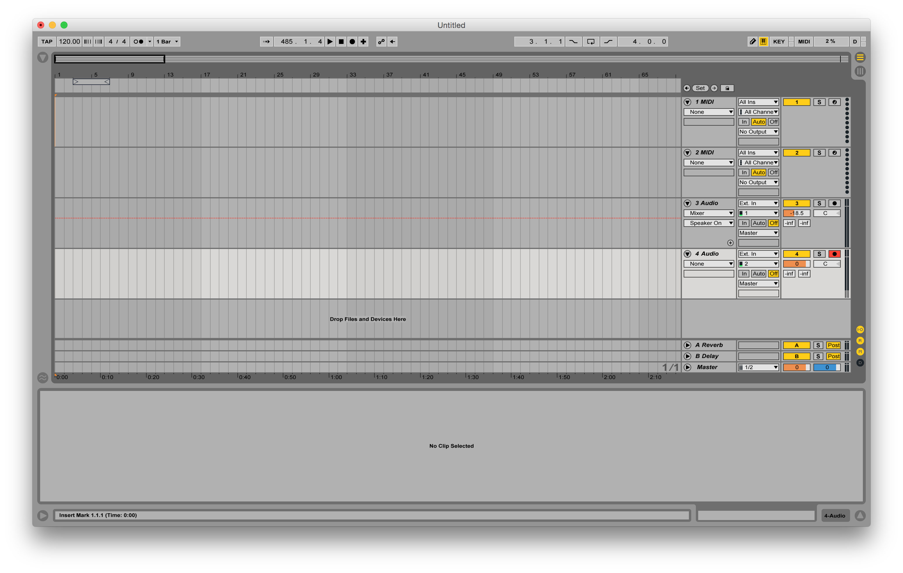 how to record a sample in abelton live