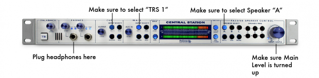 Presonus Central Station Basic Recording