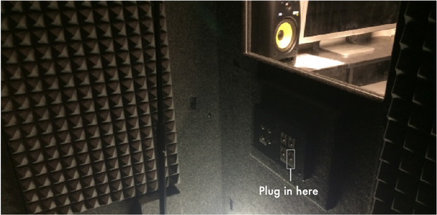Booth basic recording