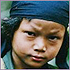 Photo of child in war-torn Burma-Myanmar