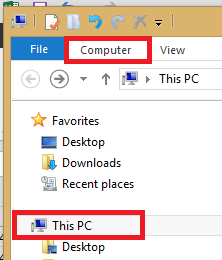1 This PC and Open Explorer