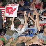 AIDS rally