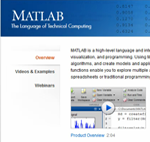 Matlab web home page