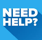 Need Help? graphic