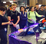 Students at the 2016 event