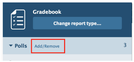 Add/Remove button