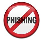 No Phishing sign