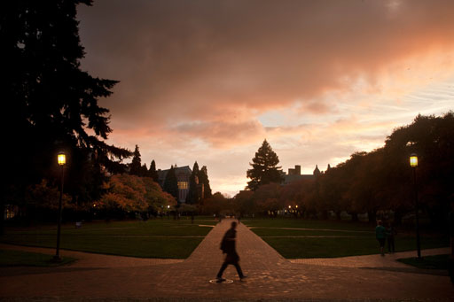 Photo by Katherine Turner. Fall in the Quad.