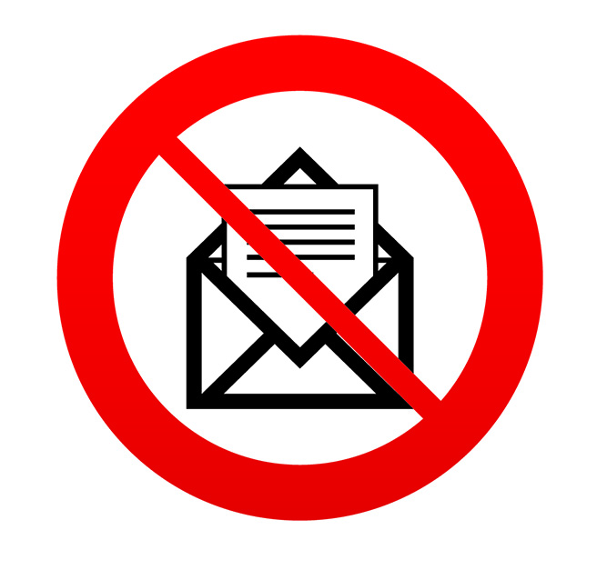 Image for don't open email