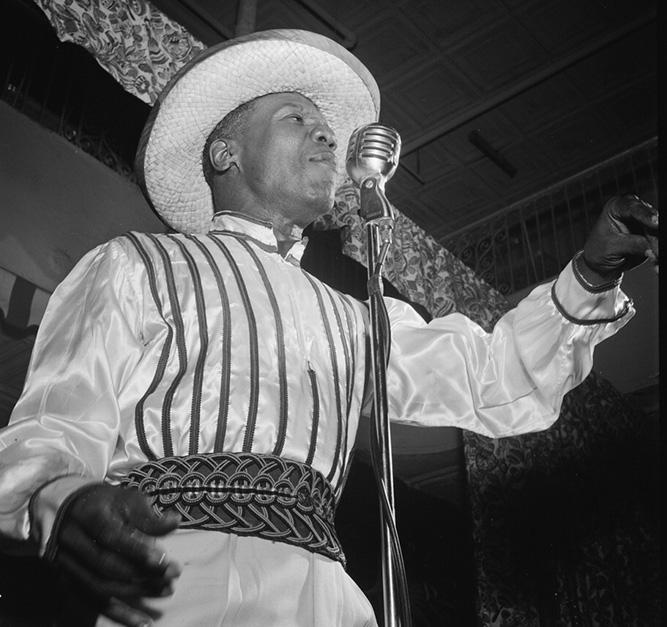 Calypso singer