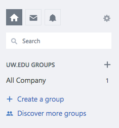 Create a group in Yammer