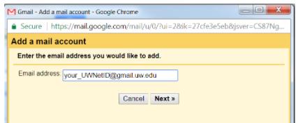 Add a mail account