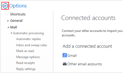 how to connect email to outlook