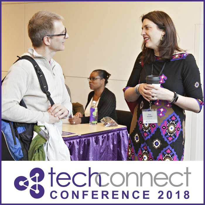 People talking at TechConnect