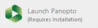 Launch Panopto