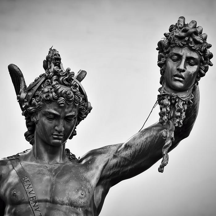 erseus with the head of Medusa