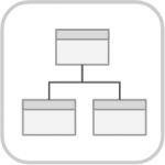 Conceptual Data Model icon