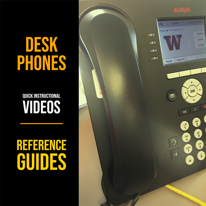 Photo of Avaya desk phone