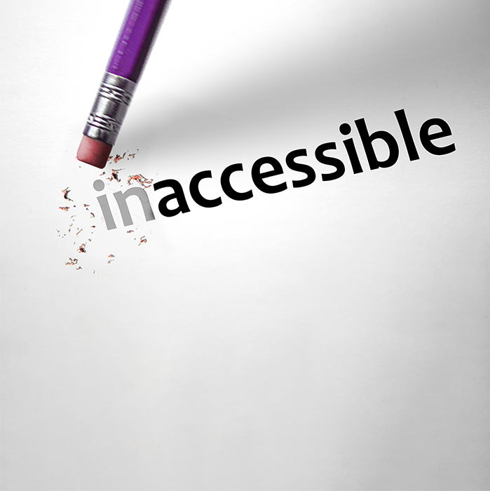 "the ""in"" of ""inaccessible"" is being erased"