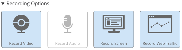 Default Recording Options